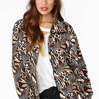 Feeling Catty Bomber Jacket