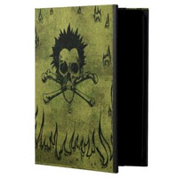 Grunged Skull and Bones Powis IPAD AIR case