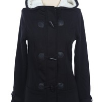 Toggle Coat with Hood