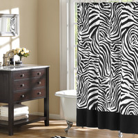 Home Essence Microfiber Shower Curtain