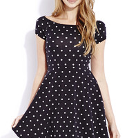 Retro Dots Skater Dress