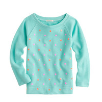 GIRLS' SEQUIN DOT SWEATSHIRT