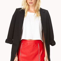 Hot Like Fire Moto Skirt