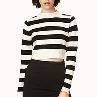 Out At Sea Cropped Sweater