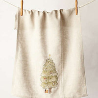 Tree-Peek Dishtowel