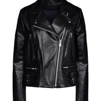 Victoria Beckham Denim Leather Outerwear - Victoria Beckham Denim Leatherwear Women - thecorner.com