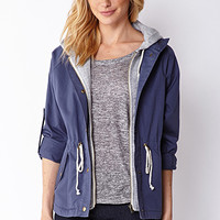 Essential Hooded Jacket
