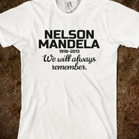 NELSON MANDELA TRIBUTE T-SHIRT