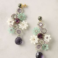 Full Of Posies Earrings - Anthropologie.com