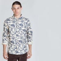 Men's Westley L/S Shirt (Cream)