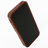 Q Card Case for iPhone 5/5S-Brown