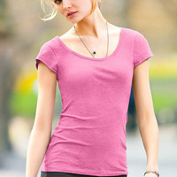 Cap-sleeve Scoopneck Tee - Essential Tees - Victoria's Secret