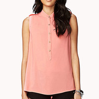 Ornate Button Top
