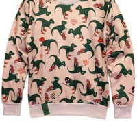 Cartoon Dinosaur Sweatshirt
