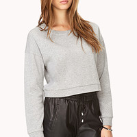 No Fuss Cropped Sweatshirt