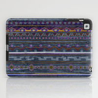VINTAGE TRIBAL PATTERN iPad Case by Nika