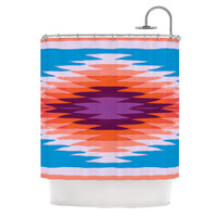 KESS InHouse Surf Lovin Hawaii Polyester Shower Curtain
