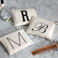 PERSONALIZED ALPHABET POUCH