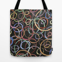 circles Tote Bag by rysunki-malunki