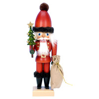 "12"" Santa Nutcracker w/ Tree"