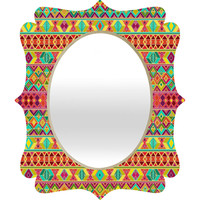 Sharon Turner Acid Weave Quatrefoil Mirror