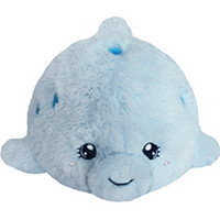 Mini Squishable Baby Dolphin: An Adorable Fuzzy Plush to Snurfle and Squeeze!