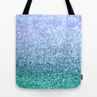 Winter Over Ocean Tote Bag by Lisa Argyropoulos