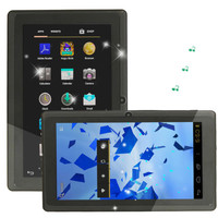 "7"" 4GB 800*480  Android 4.0 Q8 512MB DDR3 Camera 16:9 Tablet PC WiFi Black"