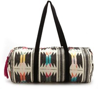 TRIBAL OVERNIGHT CANVAS BAG
