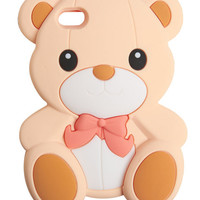 Teddy Bear Phone Case | Wet Seal