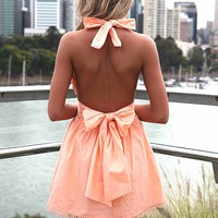 LIZZY TAYLOR DRESS , DRESSES, TOPS, BOTTOMS, JACKETS & JUMPERS, ACCESSORIES, SALE, PRE ORDER, NEW ARRIVALS, PLAYSUIT, COLOUR, GIFT VOUCHER,,Orange,BACKLESS,SLEEVELESS Australia, Queensland, Brisbane