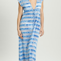 Vibrant Stripe Flutter Dress - VS-096