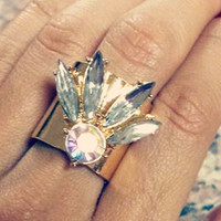 8 Other Reasons Gold Anarchy Ring | Sweet Rebel