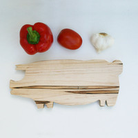 Pig Chopping Board - Maple - Ships December 12th-13th