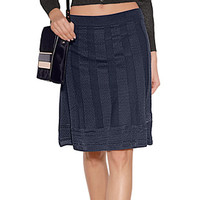 M Missoni - Flared-Skirt mit Wolle