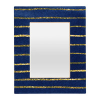 Social Proper Nautical Sparkle Rectangular Mirror