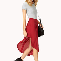 Modernist Asymmetrical Skirt