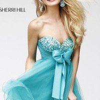 Empire Embellished Dress by Sherri Hill