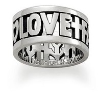 Faith, Hope and Love Ring: James Avery