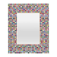 Sharon Turner It All Adds Up Rectangular Mirror