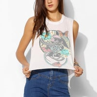 Corner Shop Raw Bottom Muscle Tee - Urban Outfitters