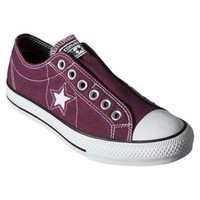 Women's Converse® One Star® Slip On Sneaker - Burgundy