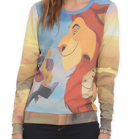 Disney The Lion King Girls Pullover Top