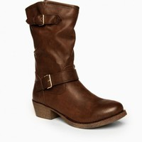 JESSALYN BOOTS IN BROWN