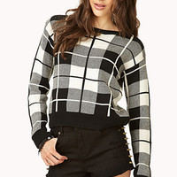 Standout Plaid Sweater