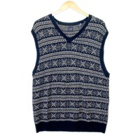 Fair Isle or Nordic? Ski or Christmas? Identity Crisis Ugly Sweater Vest