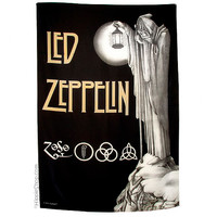 Led Zeppelin IV Fabric Poster on Sale for $14.99 at HippieShop.com