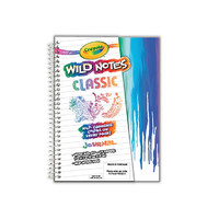 Crayola Wild Notes Classic Journal