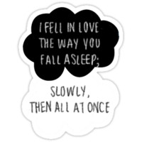 I Fell in Love the Way You Fall Asleep iPhone & iPod Cases
