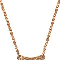Pave ID Necklace